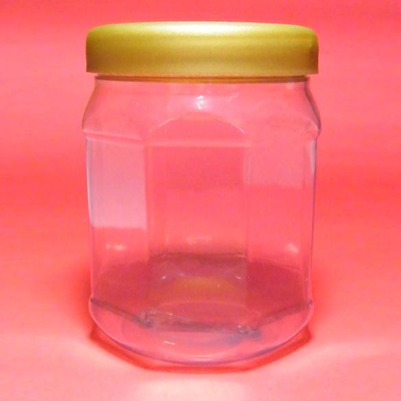 Pote miel octogonal con tapa